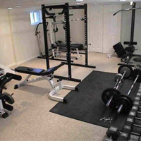 Design tips for your home gym california spa