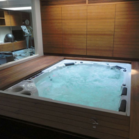 What are Indoor Hot Tub Dimensions