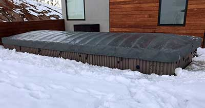 E2E Swim Spa Cover Arctic Spas